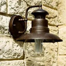 Lampada da esterno IP44 stile lanterna rustico vintage IP44 alluminio ruggine