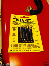 Wivco Design WIV-E Point TH41.000 4 Pc Spot Weld Separator Kit Made in USA