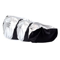 Universal Waterproof Bicycle Cover ,Sun & Rain Resistance ,Silver For 1 -3 Bikes