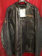 Harley Davidson Men's 115th Anniversary Eagle B&S Leather Jacket 2XLT 98000-18VM