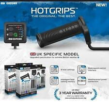 NEW UK Model! Oxford ADVENTURE Hot Grips, Motorcycle Heated Grips, + FREE GIFT!