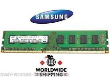 Samsung 4GB (1x4GB) DDR3 1333 PC3-10600 Non-ECC Desktop Computer RAM Memory