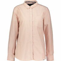 SUPERDRY Women's OXFORD Shirt, Chambray Pink, size L/UK 14