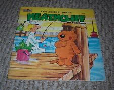1983 Heathcliff The Fish Bandit Big Looker Storybook Marvel Books Shirley Jay