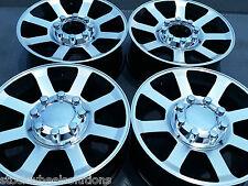"Fits Ford F250 F350 20"" HD Wheels 2007-10 Factory Style SD Rims 3693 Mach. Black"