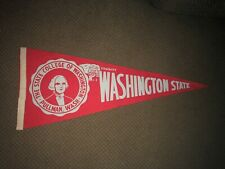 Washington State Cougars Pennant 1950's
