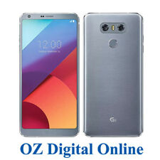 "NEW LG G6 H870 64GB 4G 13MP 5.7"" Ice Platinum Dual Sim Unlocked Phone 1 Yr AuWty"