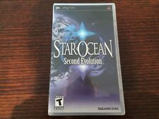 Star Ocean Second Evolution (Sony Playstation Portable, PSP) Complete RPG Rare