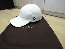 GUCCI MEN'S CAP / HAT - WHITE - *BNWT* - SIZE LARGE - WITH RECEIPTS!