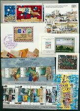 ISRAEL 1990 - 1999 ALL S/SHEETS ISSUED COLLECTION MNH  SEE 3 SCANS