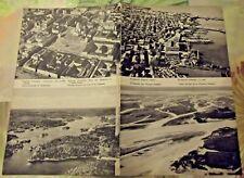 1962 Carte & Image Pays Scandinaves & Baltes agricultures forêts Helsinki