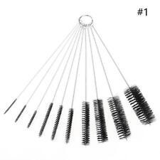 "10pcs 16"" LONG STEEL WIRE ROUND TUBE GUN CLEANING BRUSHES 3/8""-1-1/2"" BRUSH BOT"