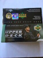 2004 Upper Deck Golf Factory Sealed Box **Tiger Woods**