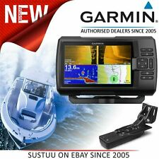 "Garmin STRIKER Plus 7sv & GT52HW-TM Transducer 7"" GPS Fish Finder IPX7 Marine"