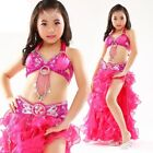 Kid's Professional Belly Dance Costumes Performance Stage Outfits Dancewear 823