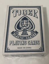 Tiger No. 88 Plastic Playing Cards New