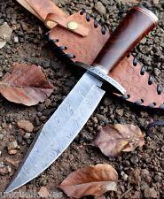 Hecho a mano cuchillo machete caza De Acero Damasco 12 in (approx. 30.48 cm) Rosa Mango de Madera VK5051