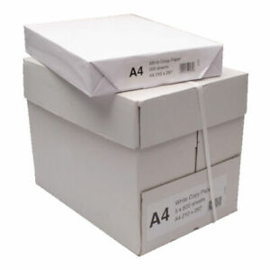 White A4 Copier Paper Pack of 2500 WX01087