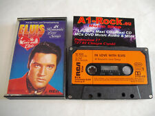 ELVIS PRESLEY  In Love With Elvis  Music Cassette