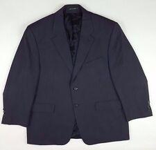 LAUREN Ralph LAUREN Suit JACKET Blazer 44S Gray PINSTRIPE Wool 2 BUTTON Vented**