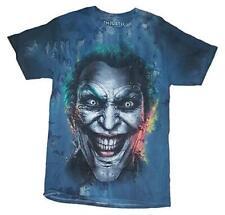 Mens Blue Joker DC Comics Injustice Video Game Tee T-Shirt