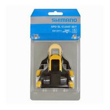 Shimano SM-SH11 Clipless SPD Pedal Cleats 6 Degree Float - Yellow