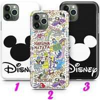 DISNEY 1 CARTOON MICKEY MOUSE CASTLE Thin Case Cover iPhone 11 + Pro + Max