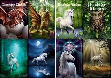 Anne Stokes Dragon Unicorn Pixie Fantasy Art Alternative Birthday Greeting Card