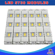 20 x 3 LED Cool White 12V, 5730 SMD Module Waterproof Light Lamp Shop Front Sign