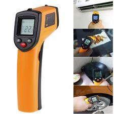 Termómetro Medidor Infrarrojo Digital Láser IR Temperatura LCD -50-380 ℃