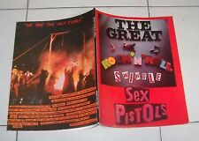 Spartiti SEX PISTOLS The Great ROCK 'N' ROLL Swindle Piano vocal Songbook 1980