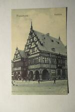 Ansichtskarte  Paderborn Rathaus 1909 gelaufen