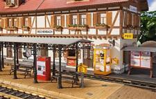 POLA G 331745 Bahnhofs-zubehör Bausatz fabrikneu