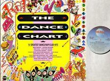 THE DANCE CHART raze/gap band/grace jones/freeez/jackie wilson/taffy/etc LP EX+