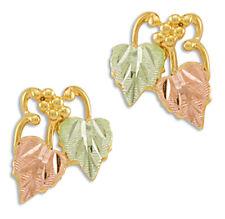 Landstrom's® 10K Black Hills Gold Leaves Post Earrings