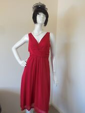ROCKMANS RED STRETCHY  DRESS SIZE 12