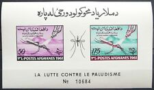 Afghanistan Souvenir sheet - Anti-Malaria campaign_1961 - MNH.