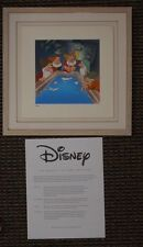 """S/O 1994 """"Wash Up"""" Snow White and the Seven Dwarfs Disney Treasures Serigraph Fr"""