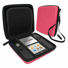Carry Case for 2ds Nintendo Hard Protective Eva Bag Game Storage ZedLabz Pink