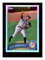 2011 Topps Chrome Refractor Alex Rodriguez #100 NM-MT/MINT Yankees