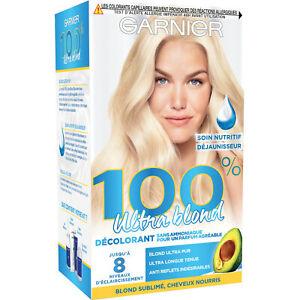 Garnier ultrablond Décoloril décoloration blonde blond sublimé cheveux nourris