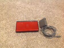 NINTENDO GAMEBOY DS LITE 2006 CRIMSON RED /Stylus/charger Model USG-001