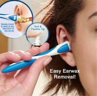 Ear Wax Removal Remover Spiral Soft Swab pick Q-Grips kit +16pcs