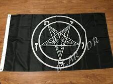 Baphomet Church SATAN flag  3x5 Feet Banner Flag knights templar Satan