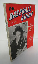 1948 BASEBALL GUIDE Sporting News Red Barber Radio Edition