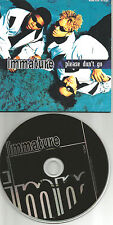 Marques Houston IMMATURE Please don't go w/ we got it FLAVA REMIX CD single IMX
