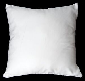 Ka10a White Tencel Fabric ECO Friendly Silky Cushion/Pillow Cover Custom Size