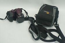 Nikon - COOLPIX B500 16.0-Megapixel Digital Camera &Plum and case USB Power Cord
