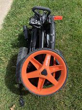 New listing Clicgear 3.5 golf push cart (orange)