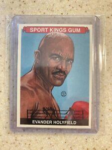 2012 SPORT KINGS BOXING CARD 🇺🇸EVANDER HOLYFIELD #225